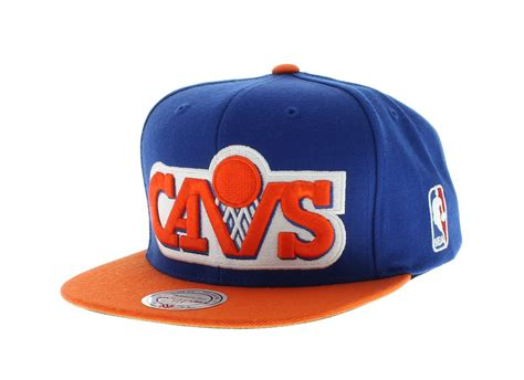 cavaliers colors cleveland cavaliers team colors the xl logo snapback by