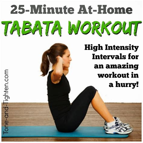 5 interval workouts to tone and tighten tone and tighten