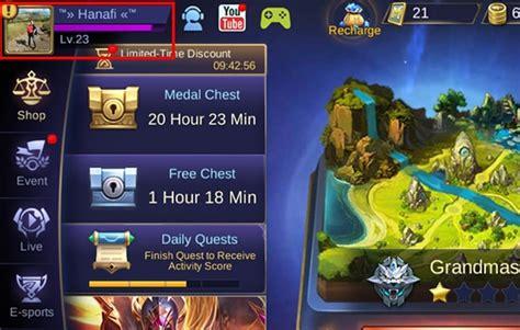 cara pindah akun mobile legend cara memindahkan akun mobile legends ke hp