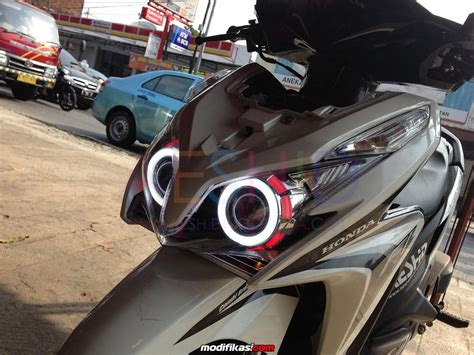 Lu Projector Vario 125 baru honda vario 125 spectrum clarity led hid projectors with turning lights