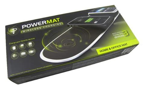 Power Mat by Chargers Powermat Wireless Charger 3 Position Home Office Wireless Charging Mat Was Listed