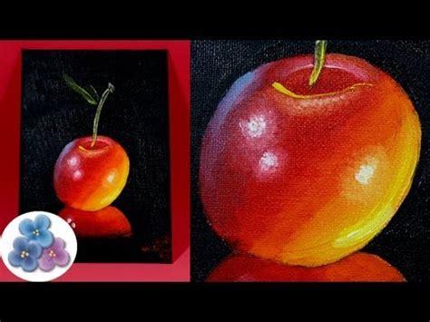 imagenes para pintar al oleo pintura al oleo como pintar cerezas diy cherry oil