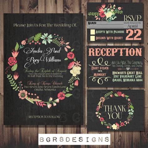 diy chalkboard wedding invitations chalkboard wedding invitation set antique distressed