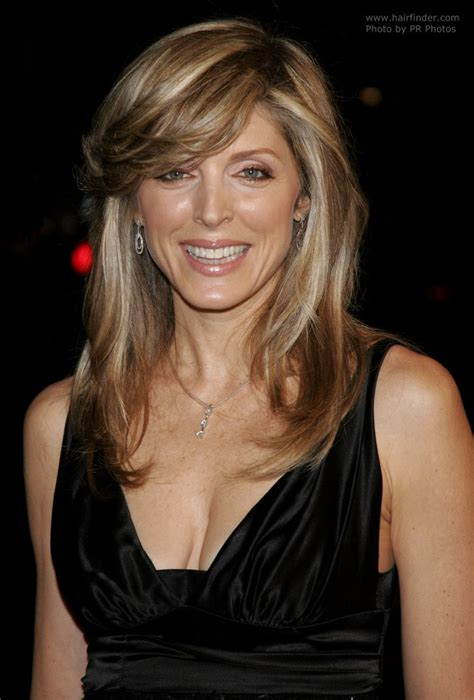 haircuts poland maine marla maples wearing her hair long with foils for a party look