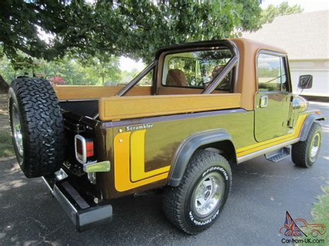 jeep scrambler 4 door 1981 jeep scrambler base sport utility 2 door 4 2l winch