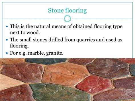 Types of flooring for the house