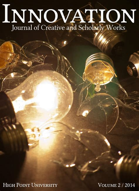design innovation journal innovation journal of creative and scholarly works by