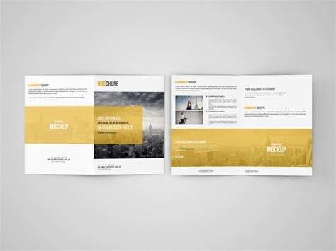 free templates for a5 booklets bi fold brochure a5 mockup mockupworld