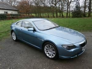 Bmw 645ci 2004 Bmw E63 645ci Auto Coupe Blue 55k F S H