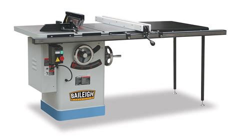 table saw riving knife table saw ts 1040p 50 baileigh industrial