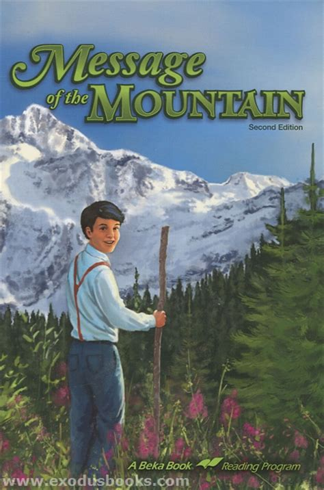 message of the mountain book report message of the mountain exodus books