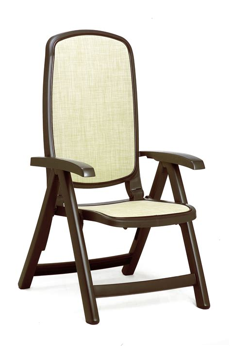 Patio Furniture Chairs Nardi Delta Resin Sling 5 Position Folding Patio Chair Et T Distributors