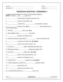 14 best images of spanish pronouns worksheet subject