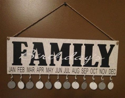 Handmade Sign Ideas - 8 x 16 inch wooden signs with vinyl family