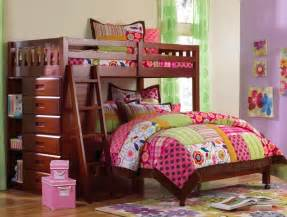 Beautiful and cute bunk bed design ideas with twin vintage bed