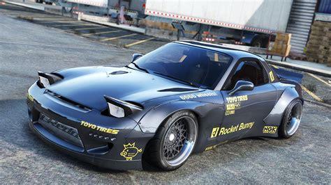 Mazda Rx7 Rocket Bunny Auto Bild Idee