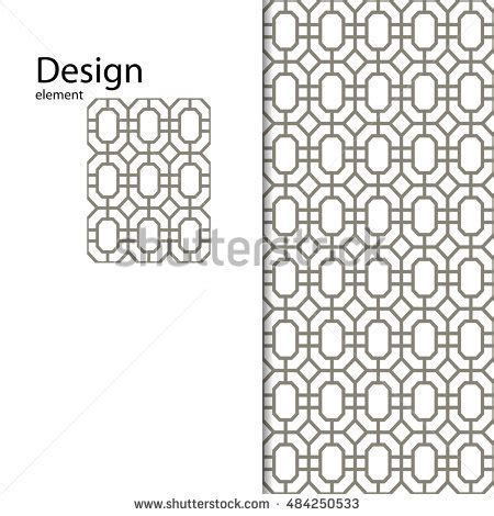 Floral Ornamental Pattern Traditional Arabic Seamless Stock Vector 275144867 Shutterstock Laser Cut Glasses Template