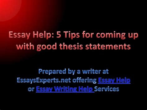 coming up with a dissertation topic essay help 5 tips for coming up with thesis