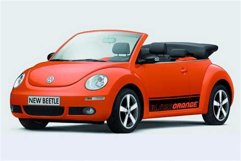 volkswagen orange volkswagen beetle black orange special edition