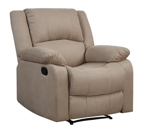 Parker Reclining Convertible Chair Beige By Lifestyle Convertibles Reclining Sofa
