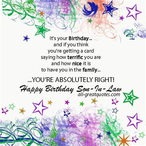 free printable anniversary cards for daughter and son in law son in law quotes nice quotes pinterest free