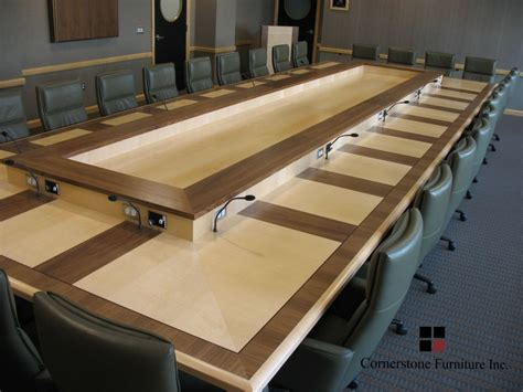 Executive Boardroom Tables Made Bronson Executive Boardroom Table By Cornerstone Furniture Custommade