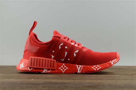 adidas lv 2017 adidas originals nmd x lv red men s and women s