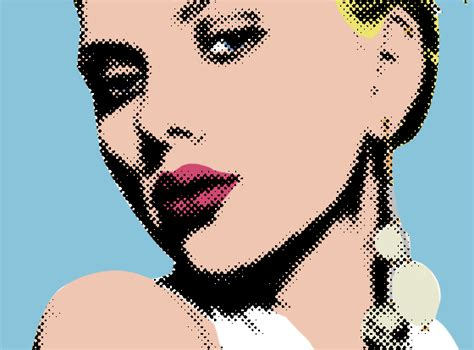 tutorial photoshop roy lichtenstein art pop art photoshop