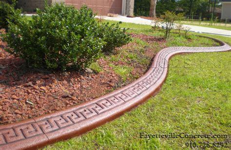 concrete landscape edging inspiring concrete landscape curbing 6 edging landscape
