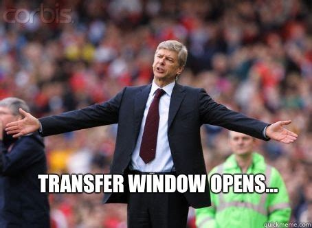 Wenger Meme - the official winter transfer rumours thread page 38