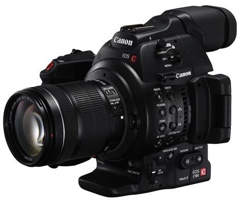 c maras profesionales canon canon lan 231 a nova eos c100 mark ii sua nova filmadora