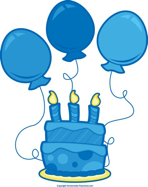 Birthday balloons clipart clipartion com