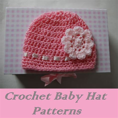 free pattern baby hat crochet free easy crochet baby hat patterns