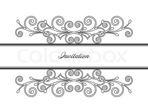 Wallpaper Stiker Motif Luxury Blue Line 1 vintage frame decor vector illustration stock vector