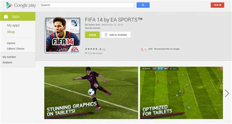ea for android fifa 14 也登陸上 android 囉 內附 play 下載網址 指定地區 techorz 囧科技