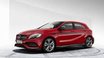 mercedes a class gains new amg kit