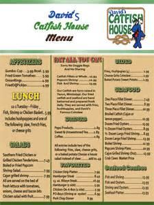 menu andalusia david s catfish house menu andalusia