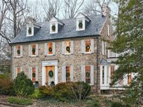 colonial home builders colonial revival architecture stone colonial homes
