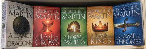 game of thrones hardcover collection set george r r game of thrones hardcover collection set george r r martin set 1 5 brand new cad 174 85