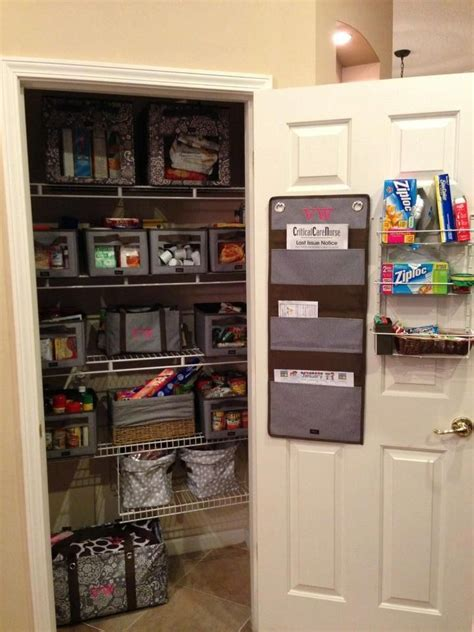 Looking For Kitchen Pantry Look At This Beautifully Organized Kitchen Pantry Using