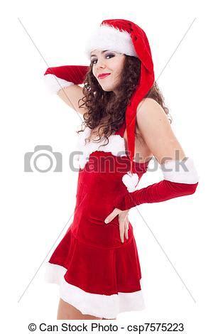 imagenes de vestidos de santa claus stock de fotos de sexy mujer santa sexy mujer