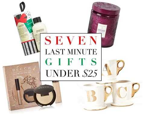 7 Last Minute Substitutions by 7 Last Minute Gifts 25 Simply Sona