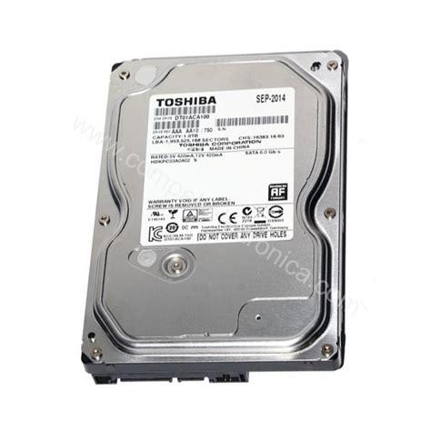 Hardisk Toshiba 1tb 7200 Rpm Disk 3 5 Quot Da 1tb 32mb 7200 Rpm Serial Ata 150 Toshiba Comp El Componenti Elettronici