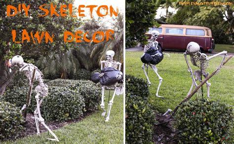 lawn decor diy skeleton lawn decor for fullact trending