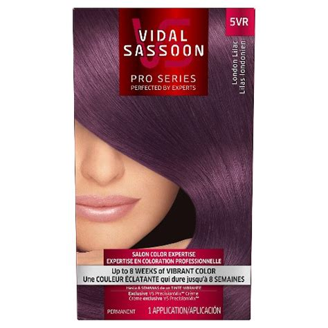 vidal sassoon hair colors vidal sassoon pro series permanent hair color ebay