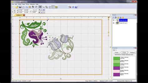 embroidery design management software how to combine embroidery designs in embrilliance