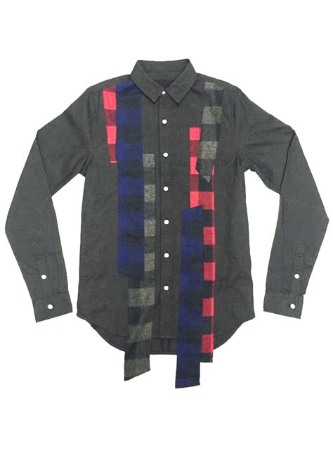 Patchwork Flannel - mhrs patchwork flannel shirt moda404 s boutique