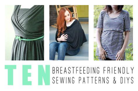 sewing pattern nursing shirt got milk 10 patterns and diys for breastfeeding moms