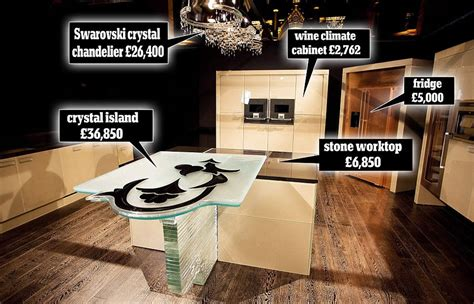 most expensive 1 6 million fiore di cristallo world s most expensive kitchen extravaganzi