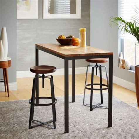West Elm Kitchen Table by Box Frame Counter Table Wood West Elm